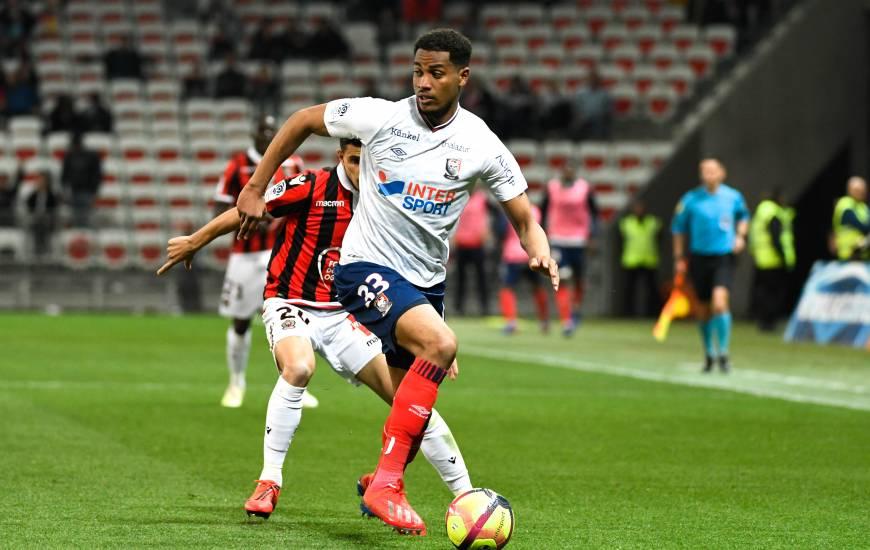 Le jeune Younn Zahary a participé aux sept dernières rencontres du Stade Malherbe Caen en Ligue 1 Conforama