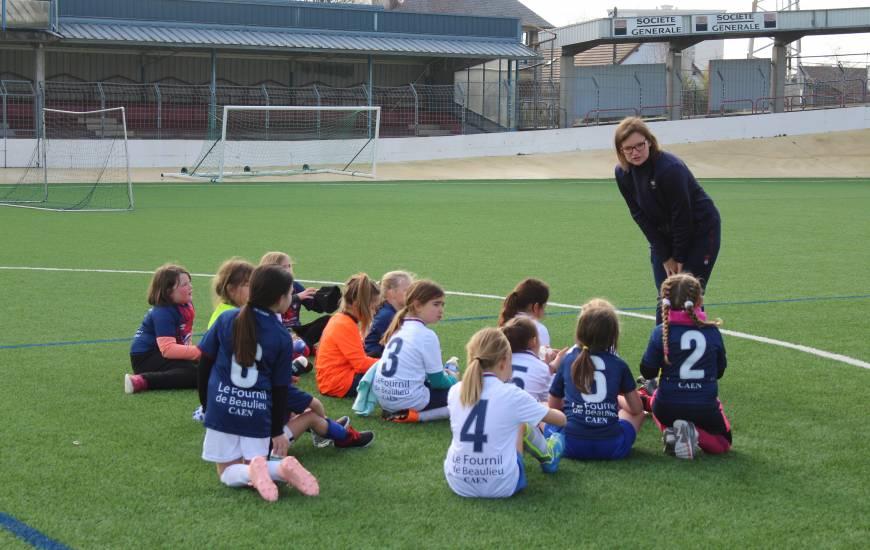 Le Stade Malherbe Caen organise une dernière journée portes ouvertes pour les joueuses nées en 2007 et 2008
