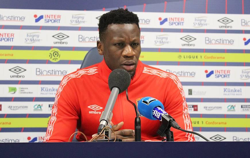 Buteur mardi soir en Coupe de France, Malik Tchokounté s'est exprimé devant la presse ce vendredi midi avant le déplacement sur la pelouse d'Amiens