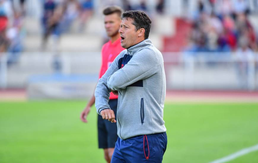 Arrivé au club cet été, Fabien Mercadal s'apprête à vivre sa première expérience en Ligue 1 Conforama avec le Stade Malherbe