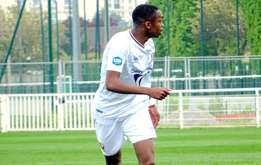 Précieux Nkaba est entré en cours de jeu à la place de Jason Bahamboula, capitaine et buteur hier face à l'ESSG