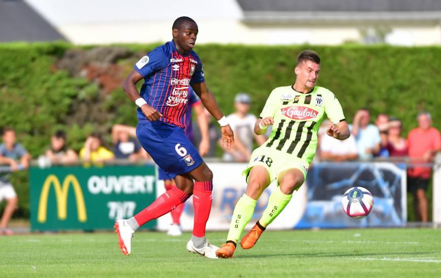 Prince Oniangué tentera de jouer un mauvais tour à son ancien club pour retrouver le chemin du succès à d'Ornano