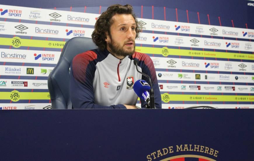 Sauf surprise, Paul Baysse devrait enchaîner son cinquième match consécutif avec le Stade Malherbe Caen dimanche face à l'Olympique de Marseille