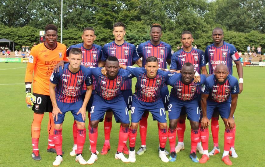 Le onze titulaire du Stade Malherbe Caen aligné samedi pour le dernier match de préparation face au FC Groningen