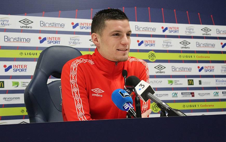 Les journalistes ont pu profiter de la présence de Frédéric Guilbert en conférence de presse à deux jours de la réception de l'Olympique de Marseille