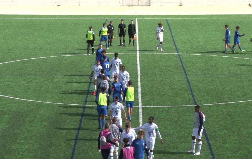 Les U17 Nationaux du SMCaen terminent le championnat par une victoire 4-1 face à l'USL Dunkerque