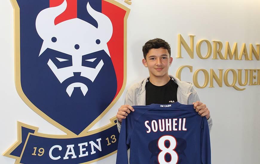 Le jeune Souheil El Messbahi rejoindra le centre de formation du Stade Malherbe Caen à partir de la saison prochaine