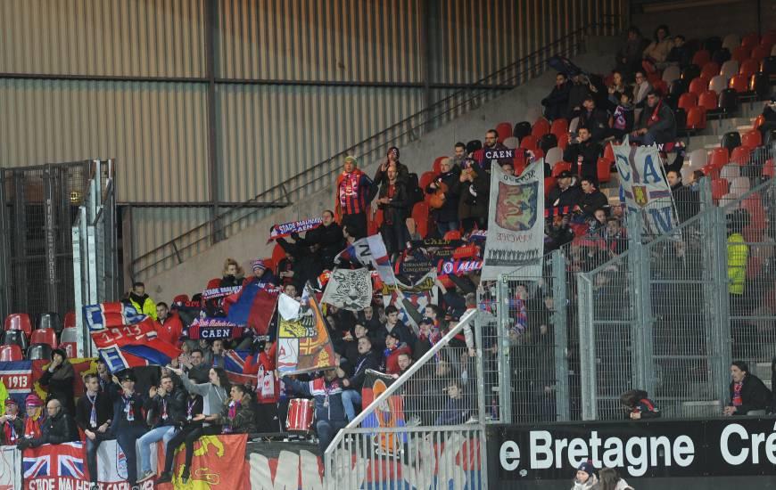 À l'image de l'ambiance de folie d'hier au Stade Michel d'Ornano, les caennais auront besoin de vous au Roudourou samedi soir