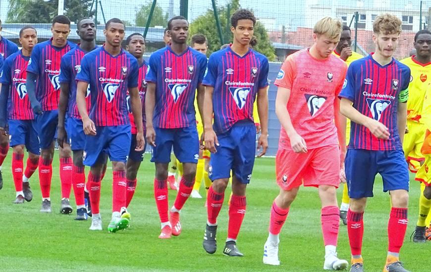 Corentin Vigneron était le capitaine des U18 du Stade Malherbe Caen hier lors de la qualification face à QRM