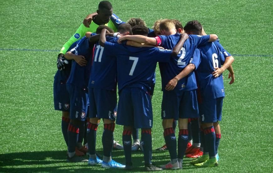Les U17 Nationaux occupent la quatrième place du classement à cinq points du leader, le Paris SG