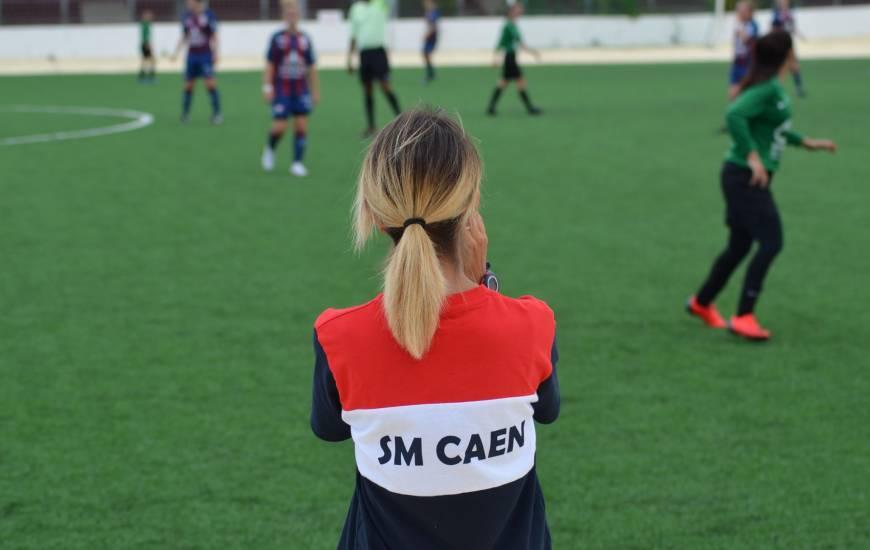 Anais Bounouar et les Caennaises débuteront la saison avec la réception du CS Gravenchon dimanche après-midi