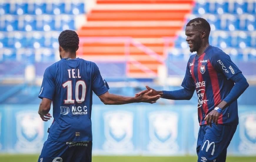 Arrivé il y a quelques jours, Jordan Tell a inscrit le seul but du match amical face au FC Nantes à d'Ornano