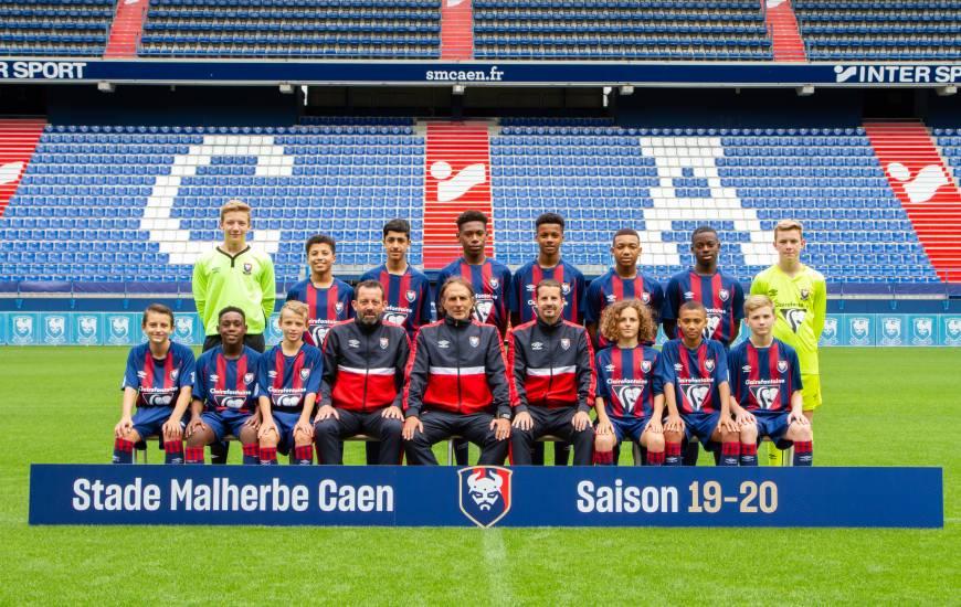 Les U15 du Stade Malherbe Caen sont les seuls à disputer une rencontre officielle ce week-end