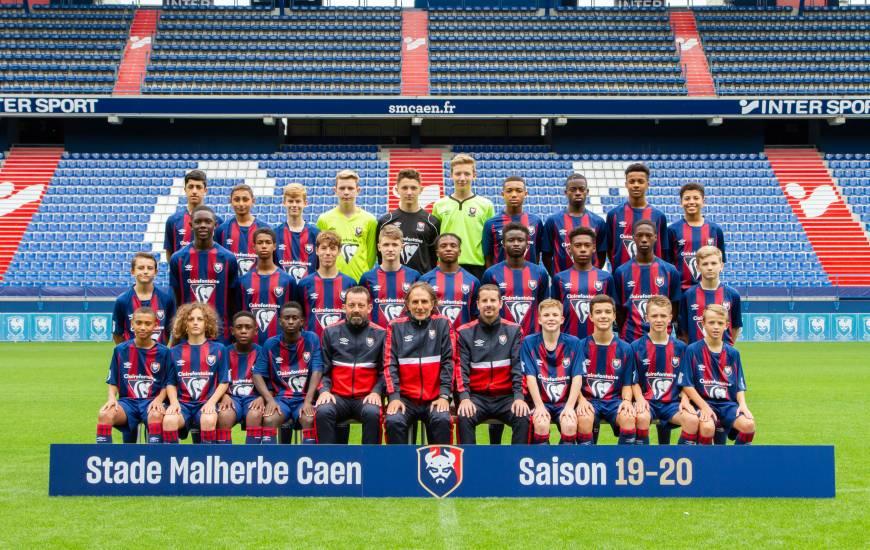 Les U15 du Stade Malherbe Caen recevront l'US Granville sur les terrains de Venoix samedi après-midi
