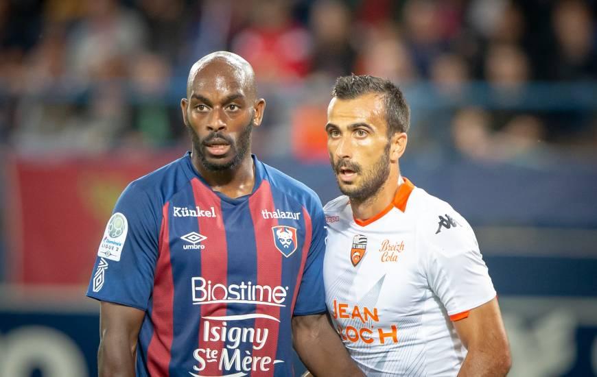 Jonathan Rivierez et les Caennais tenteront de prendre leur revanche face au FC Lorient ce soir au Moustoir