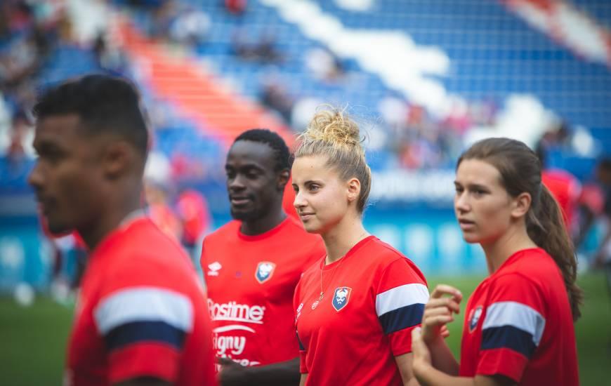 L'équipe de Zoé Brebion, Yoël Armougom, Caleb Zady et Manon Dubos ont remporté la compétition hier après-midi