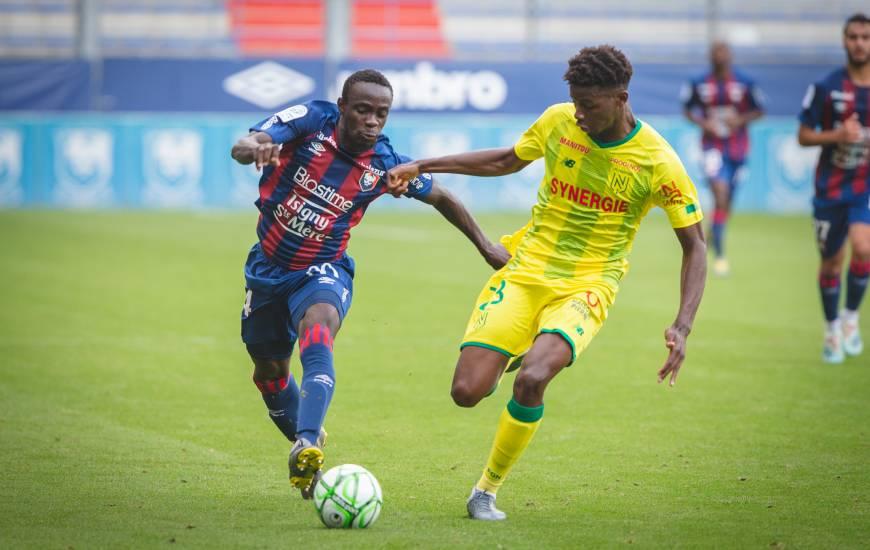 Caleb Zady Sery a disputé son premier match sous ses nouvelles couleurs hier en fin de journée face au FC Nantes