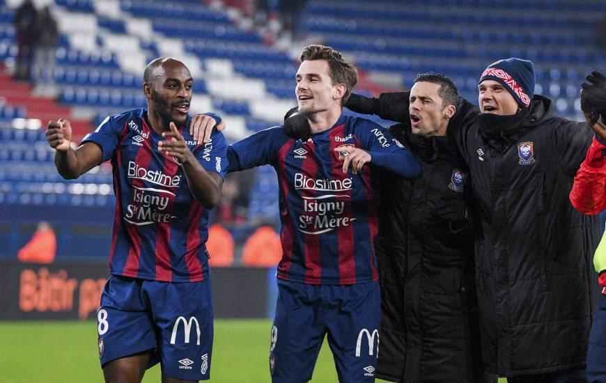 Benjamin Jeannot est toujours à la recherche de son premier but avec le Stade Malherbe Caen