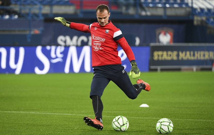 Erwin Zelazny pourrait disputer demain après-midi son troisième match en Coupe de France cette saison