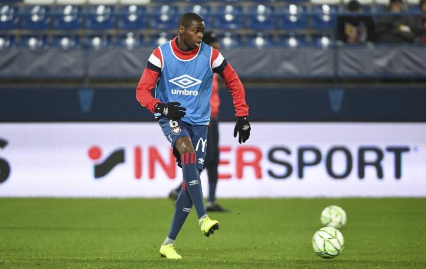 Prince Oniangué fait partie des cinq joueurs sous la menace d'une suspension demain après-midi