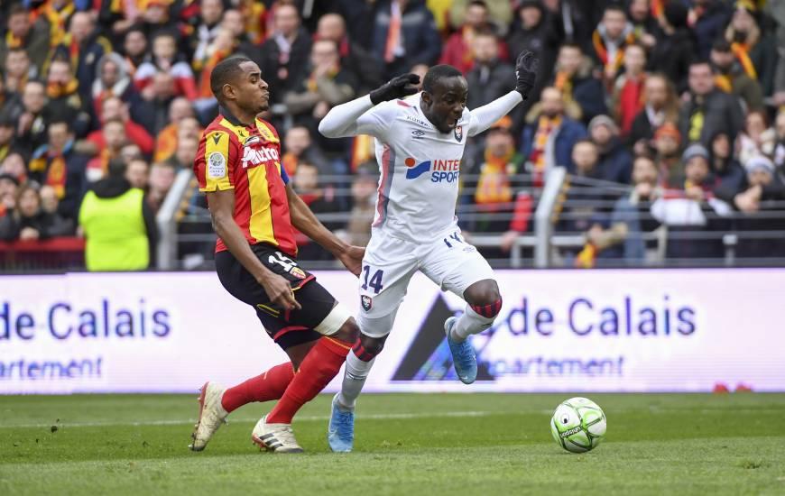 Caleb Zady Sery a notamment obtenu deux penaltys lors de la victoire (1-4) sur la pelouse du RC Lens