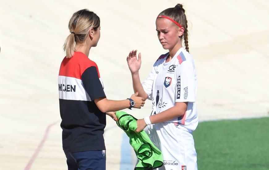 Avec que des victoires depuis le début de saison, les féminines du Stade Malherbe Caen font plus que bonne figure