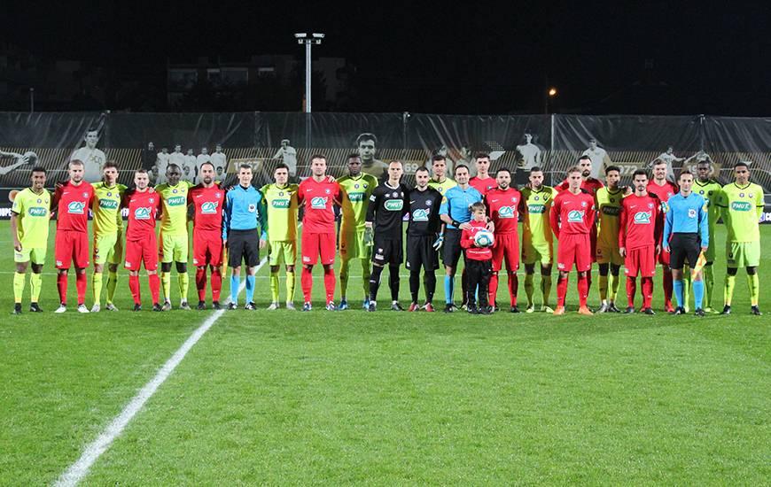 Opposé à l'ASI Mûrs Érigné, le Stade Malherbe Caen a validé son billet pour le 8e tour après son succès 6-0