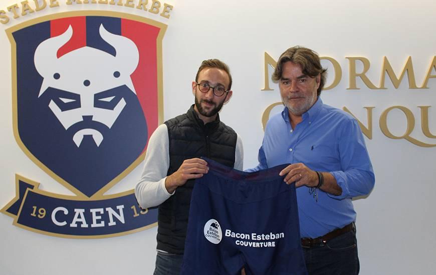 Partenaire du club depuis trois saisons, l'entreprise Bacon Esteban Couverture devient sponsor short à partir de la prochaine saison