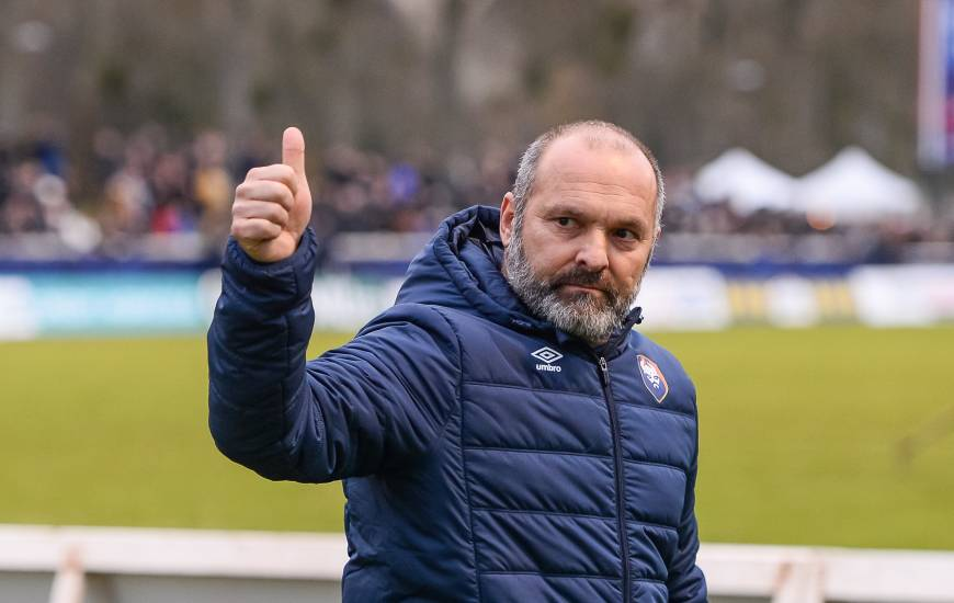 La satisfaction de Pascal Dupraz après la qualification face à Chartres hier après-midi en Coupe de France