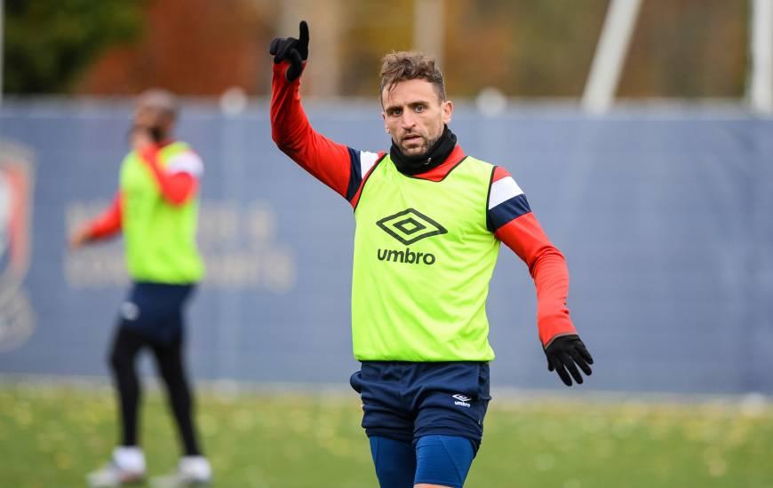 Sorti sur blessure vendredi soir face au Mans FC, Anthony Gonçalves a fait son retour avec le groupe