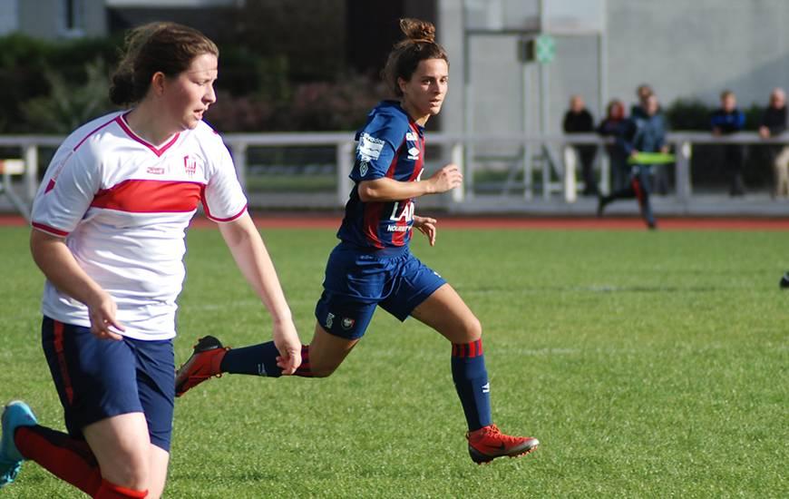 Pauline Bisson a inscrit son premier but de la saison à l'occasion de ce tour de Coupe de France face à l'USON Mondeville