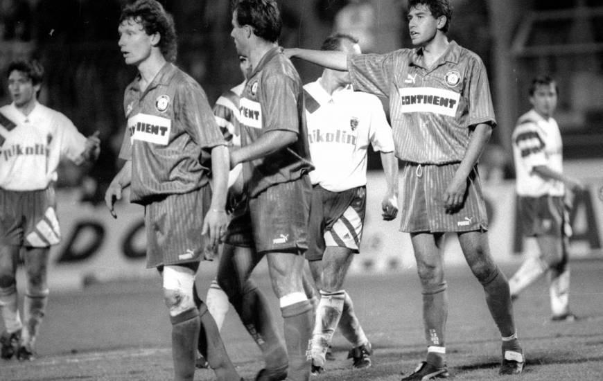 Les Caennais avaient réussi l'exploit de s'imposer à Venoix face au Real Saragosse en Coupe UEFA
