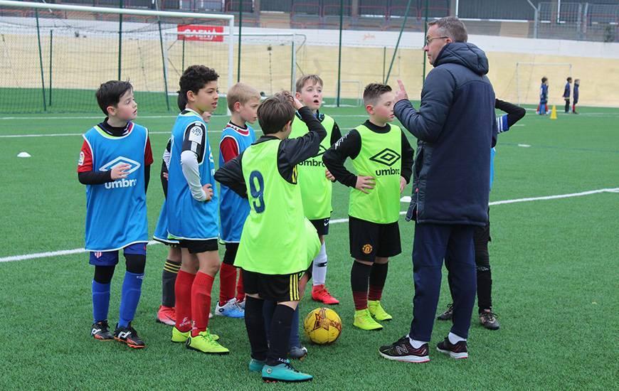 Le Stade Malherbe Caen organise une journée détection pendant les vacances scolaires pour son école de football