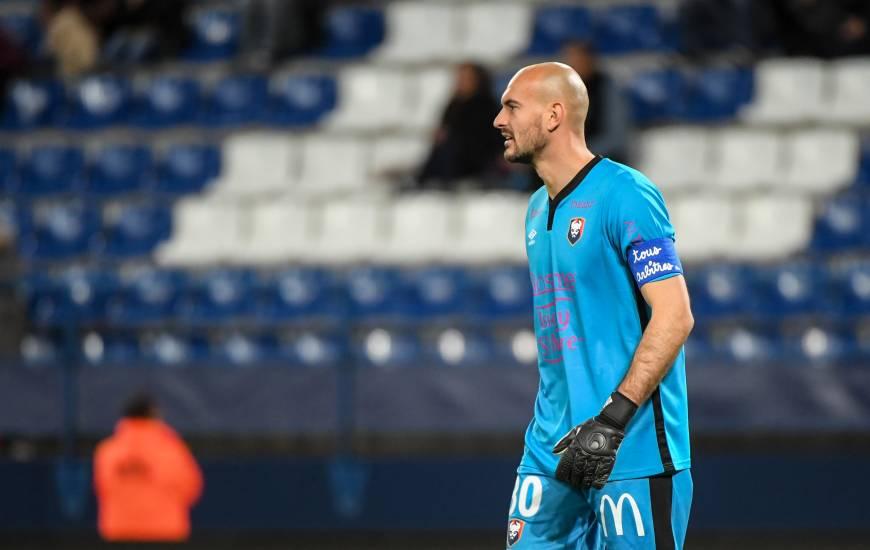 Rémy Riou a réalisé son premier clean sheet depuis 6 rencontres et un 0-0 lors de SM Caen / FC Chambly