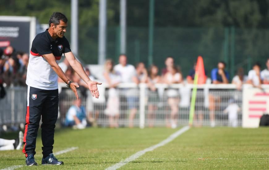 Rui Ameida s'est montré satisfait par la prestation de ses joueurs face au Havre hier en fin d'après-midi