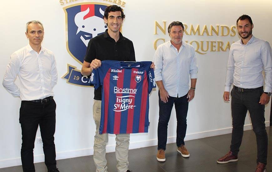 Felipe Saad ici aux côtés de Fabrice Clément, Arnaud Tanguy et Yohan Eudeline rejoint la cellule de recrutement du Stade Malherbe