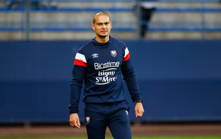 Baptiste Hamid a rejoint le Stade Malherbe Caen en tant que préparateur physique avec Pascal Dupraz