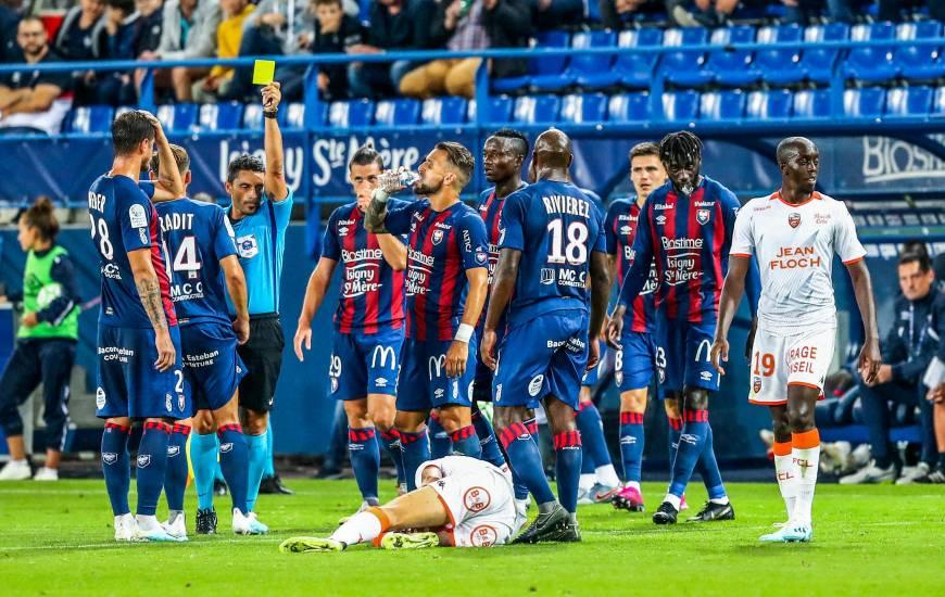 Avec sept cartons jaunes reçus depuis le début de la saison, le Stade Malherbe Caen est le mauvais élève de la Domino's Ligue 2