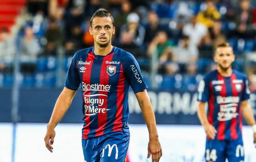 Jessy Pi a participé à toutes les rencontres du Stade Malherbe Caen depuis le début de la saison