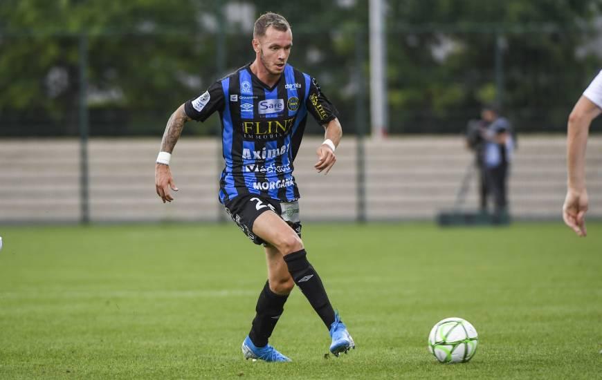 Jonathan Beaulieu évolue depuis la saison dernière avec le FC Chambly avec qui il a connu la montée en Domino's Ligue 2