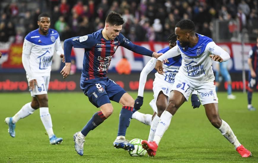 Le Stade Malherbe Caen de Jessy Deminguet venait de prendre 7 points en trois matchs