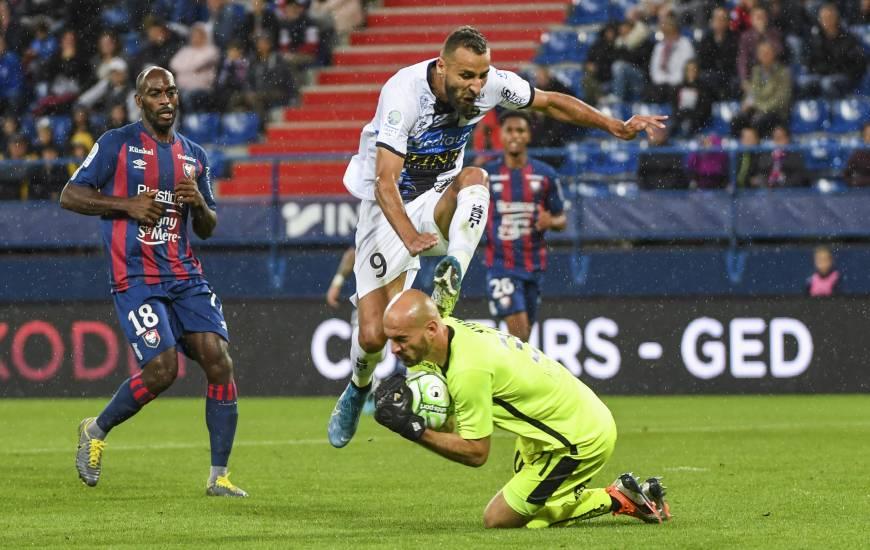 Rémy Riou et la défense du Stade Malherbe Caen ont réussi à garder leur cage inviolée vendredi soir face à Chambly
