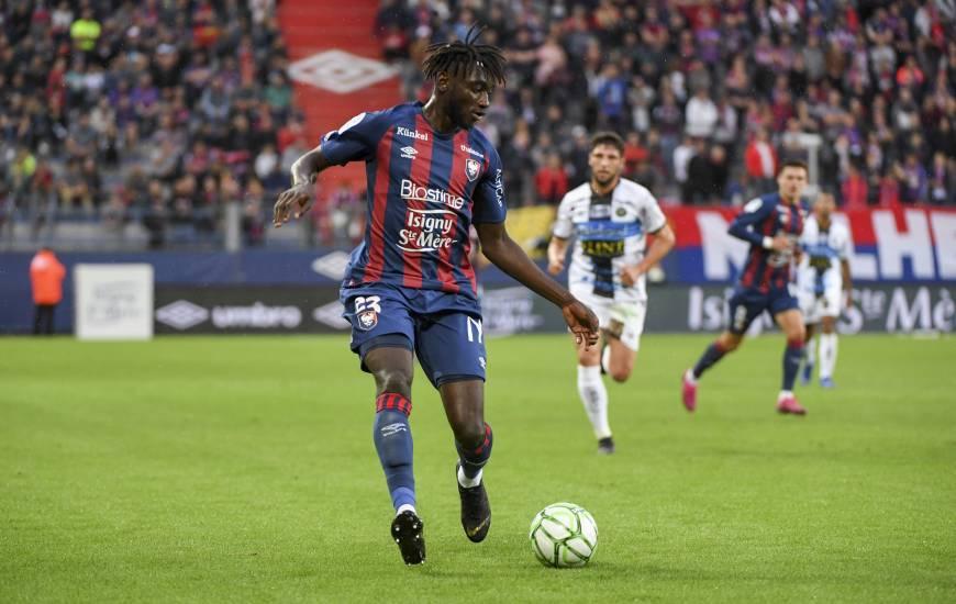 Herman Moussaki n'a plus joué en professionnel depuis le 8 novembre et une rencontre face à l'AJ Auxerre