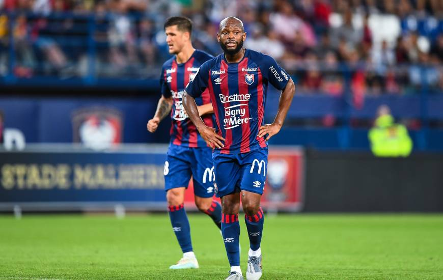 Baisama Sankoh est le meilleur buteur du Stade Malherbe Caen cette saison avec trois réalisations
