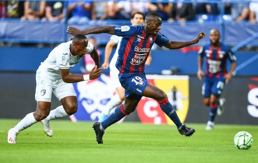 Malik Tchokounté a inscrit quatre buts en championnat depuis le début de la saison