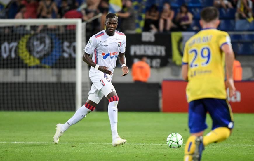 Le défenseur central caennais pourrait faire son retour à la compétition lors de la réception du Havre AC