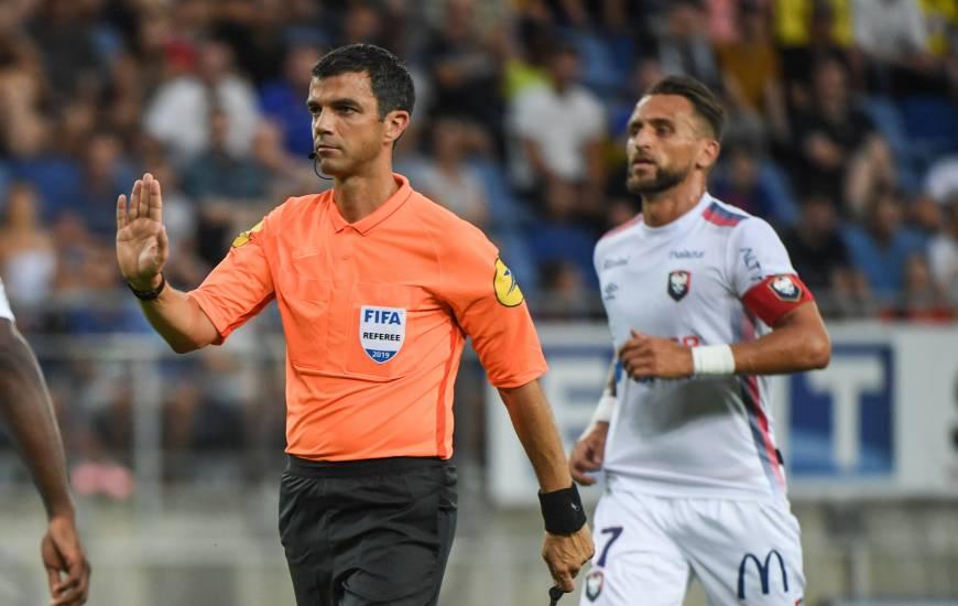Anthony Gonçalves fait partie des deux joueurs sous la menace d'une suspension en cas d'avertissement
