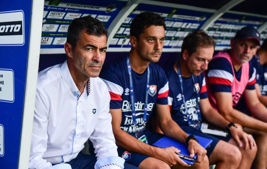 Rui Almeida a regretté les erreurs effectuées en première période par ses joueurs hier soir face au FC Lorient