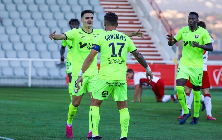 Jessy Deminguet a inscrit son deuxième but avec le Stade Malherbe Caen en l'espace de quatre jours