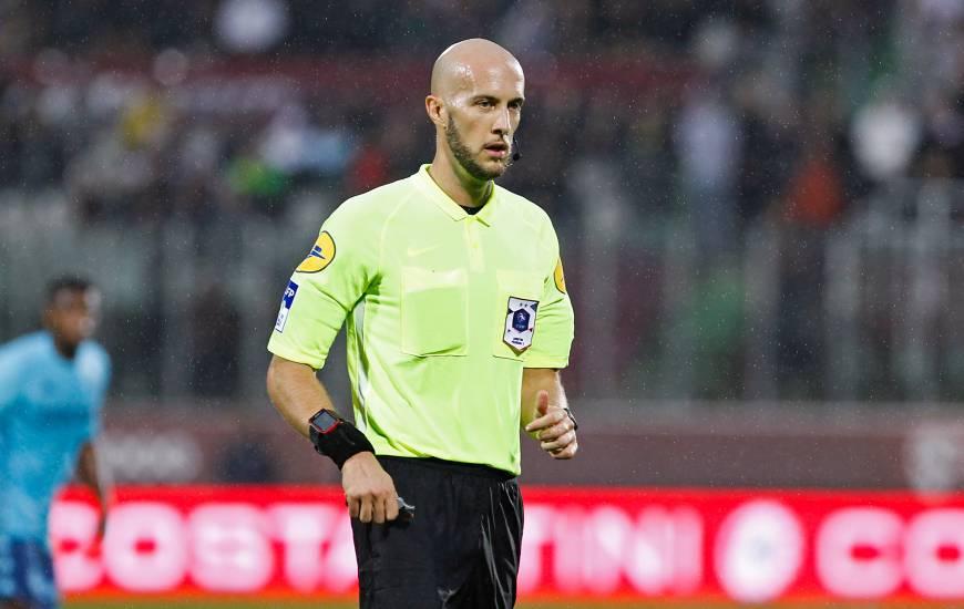 Éric Wattellier dirigera une rencontre du Stade Malherbe Caen pour la première fois cette saison
